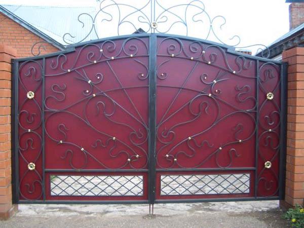 Калитка и ворота для дачи своими руками: инструкция по созданию деревянной калитки и ворот из профнастила