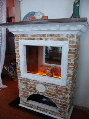 Декоративный камин своими руками пошаговая инструкция: фото