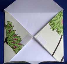 Конверт из бумаги а4; простые схемы и инструкции как сделать своими руками (105 фото)