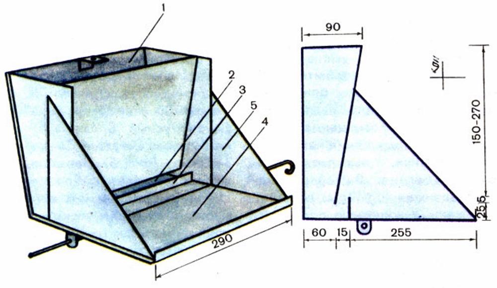 Как сделать своими руками кормушки для свиней из дерева, металла и других материалов