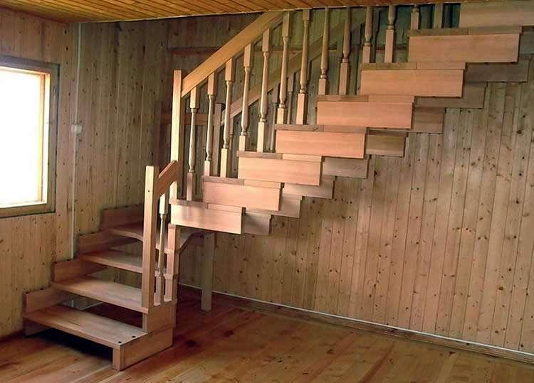 Межэтажная лестница своими руками из дерева и металла: особенности монтажа и расчеты, фото, видео процесса