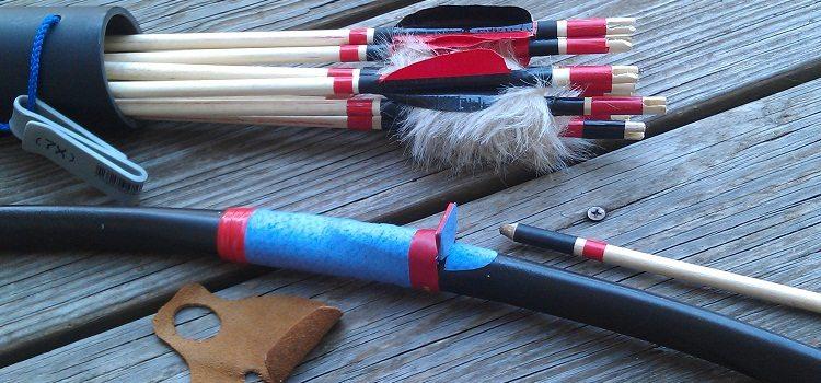 Как сделать лук из ПВХ трубы своими силами