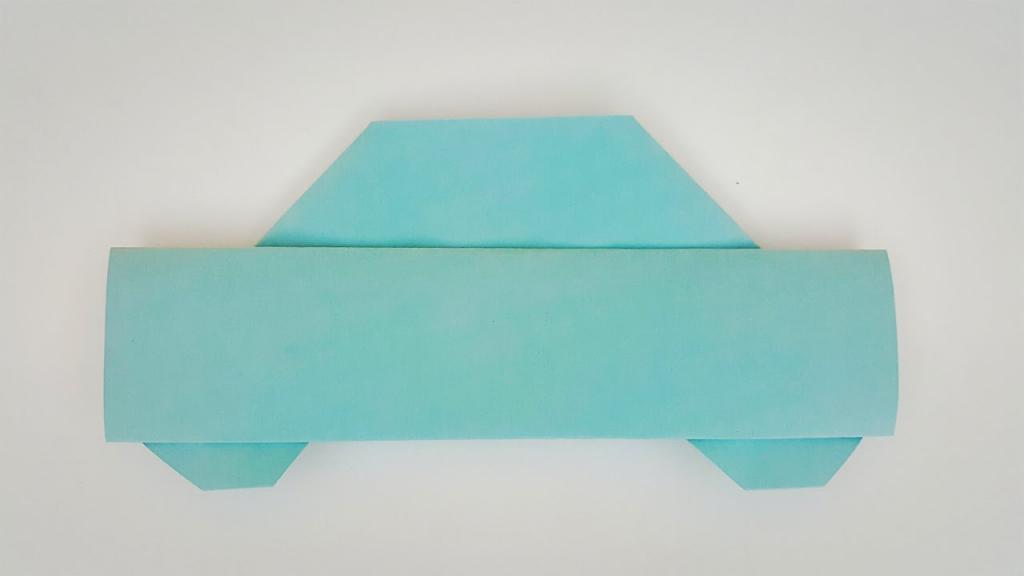 Оригами машины из бумаги сделать самому своими руками