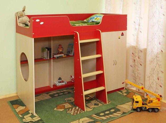 Дизайн и освещение детской комнаты