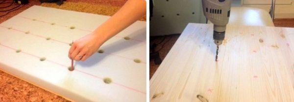 Шикарное изголовье кровати в 3 этапа своими руками