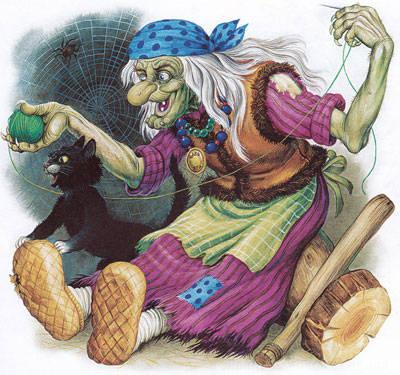 Карнавальный костюм Бабы Яги: как сшить самостоятельно из совершенно бросовых материалов