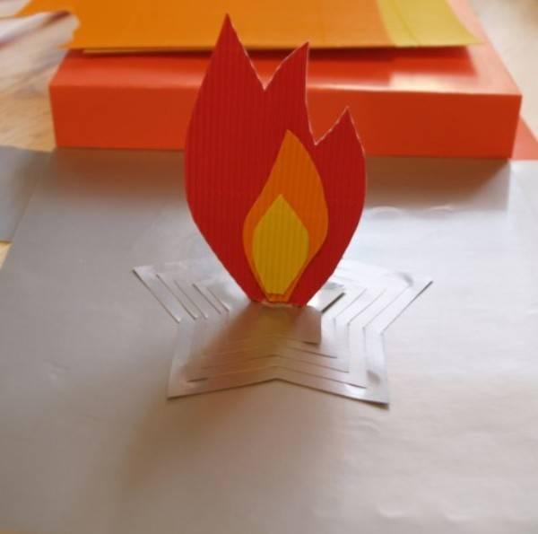 Как сделать вечный огонь своими руками