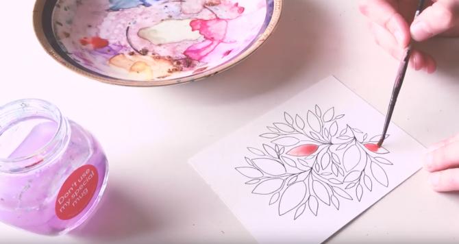 Как нарисовать открытку к 8 марта