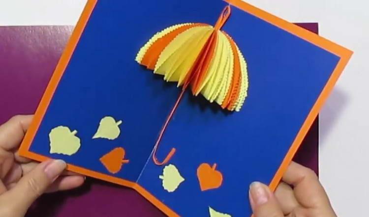 Открытка на День учителя своими руками: фото идей оформления