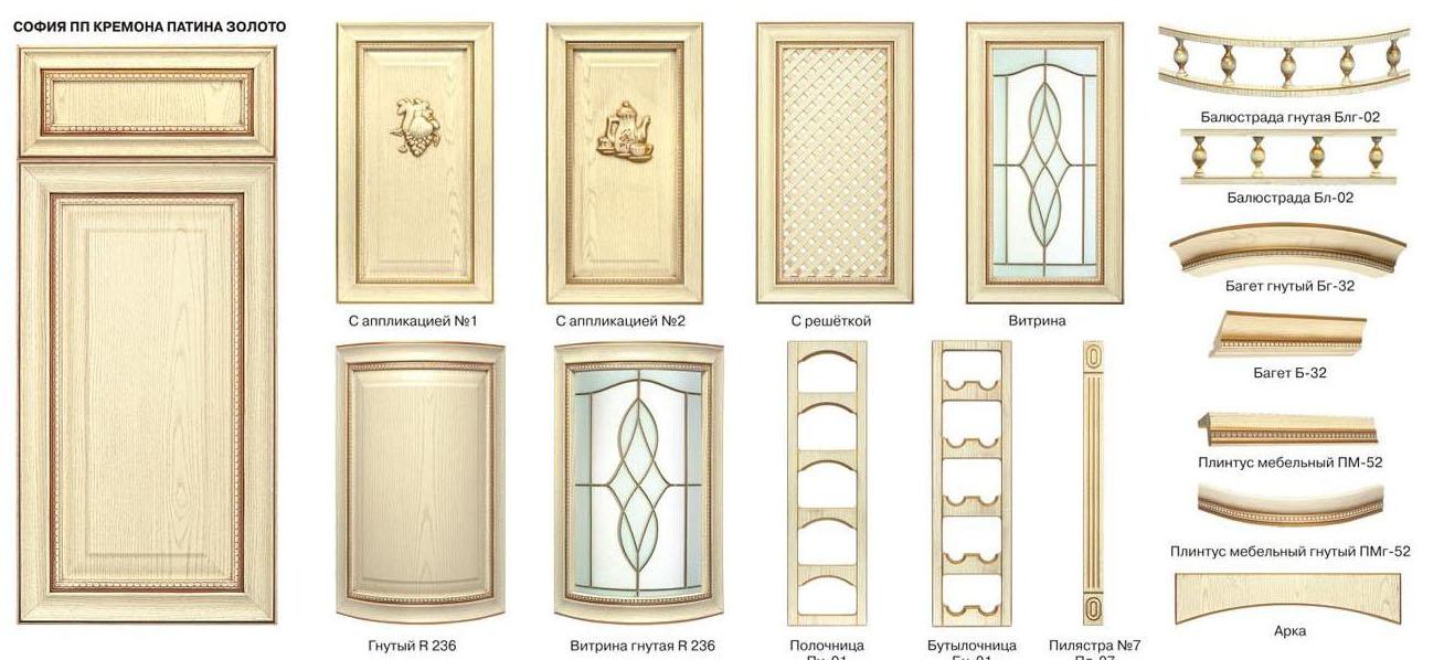 Кухонные фасады с патиной: 3 вида и технологии «старения» своими руками