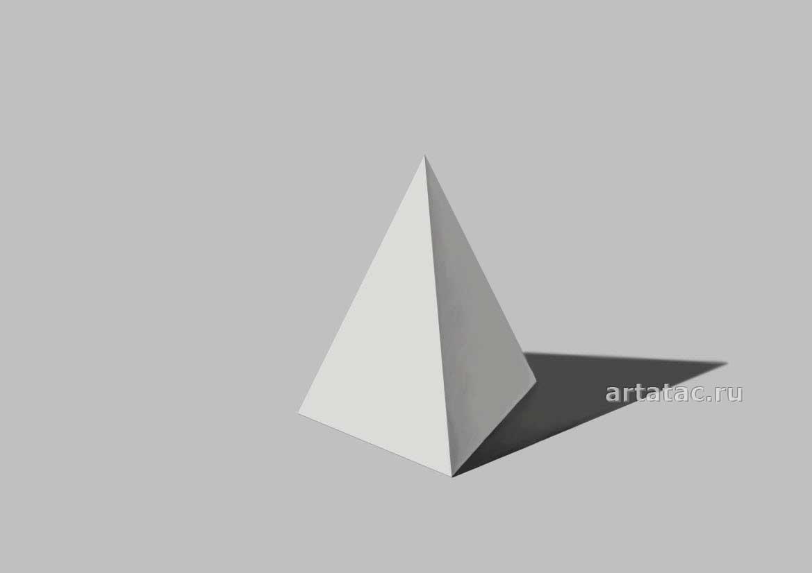 Как сделать пирамиду из бумаги. Схема с размерами, пошаговая инструкция с фото. Как нарисовать пирамиду карандашом поэтапно