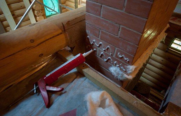 Термостойкий силиконовый герметик – как заделать шов в камине