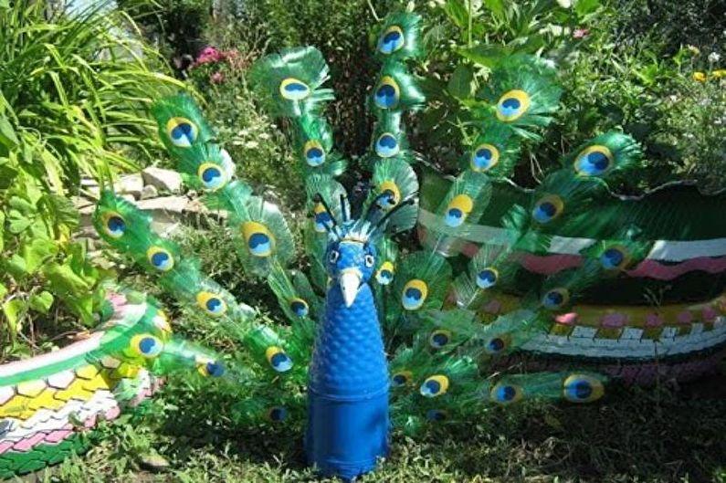 Поделки из пластиковых бутылок: 70 идей декора