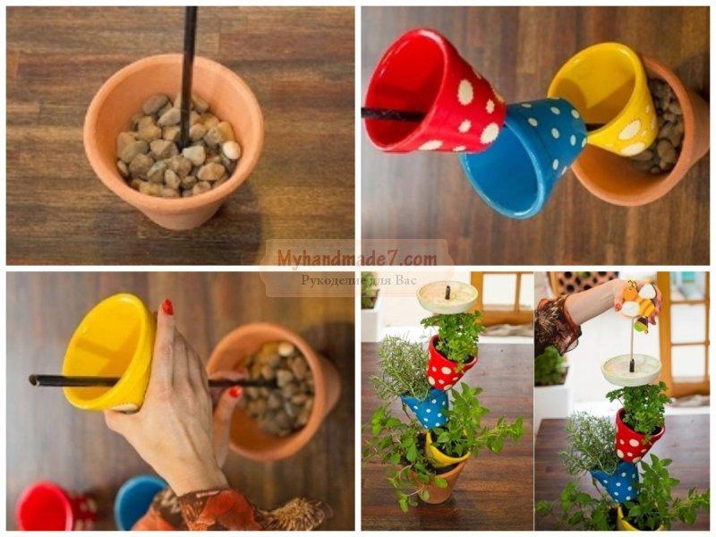 Мастер-классы для вас: пошаговые инструкции, как сделать подставки для цветов своими руками