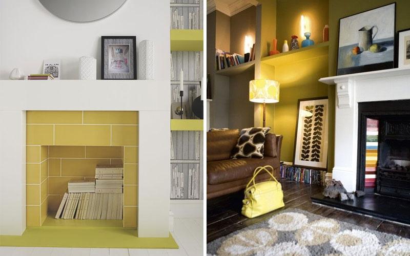 Как оформить камин в квартире: 100 идей для декора фальш-камина своими руками