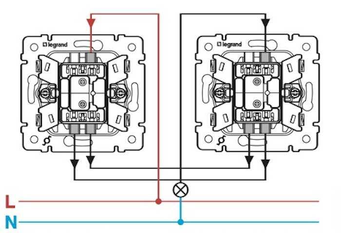 Как подключить проходной выключатель: обзор вариантов