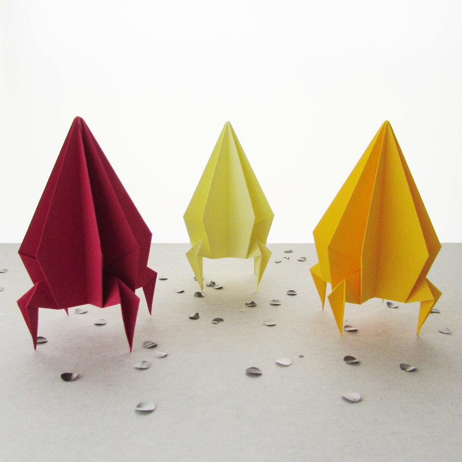 Как сделать поделку ракету - мастер-классы из бумаги, оригами и пластеина