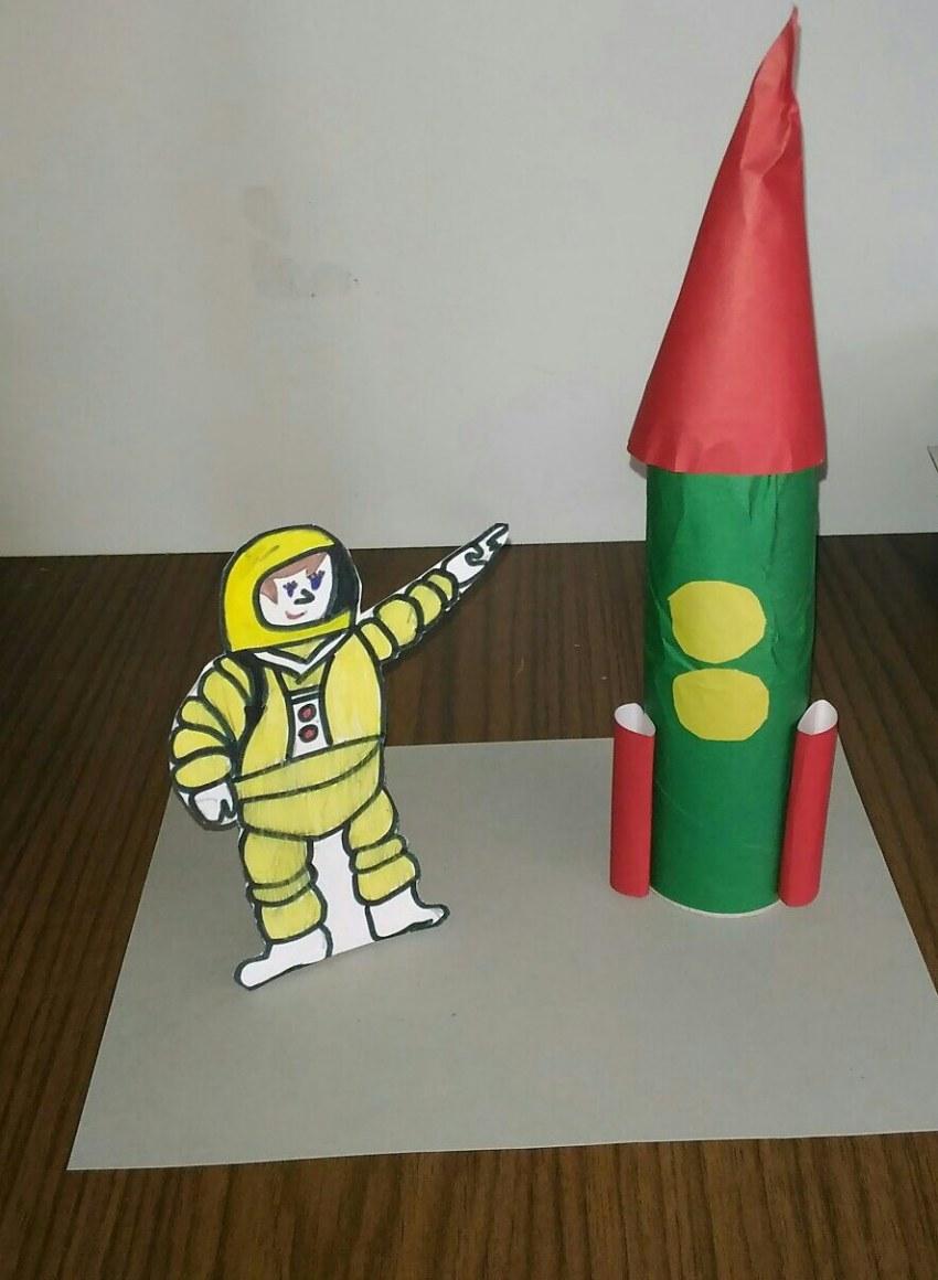 Поделка космос; пошаговая инструкция изготовления ракет, спутников, планет и звезд своими руками (110 фото)