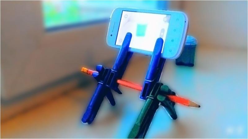Как быстро и легко сделать штатив для телефона своими руками