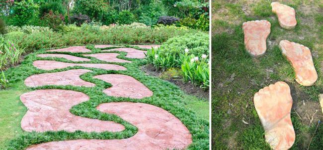 Садовые дорожки без проблем: что нужно знать и как выбрать нужную форму для заливки
