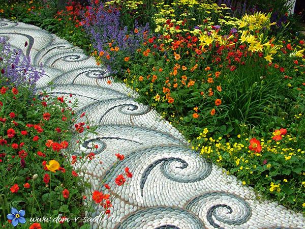 Делаем красивые дорожки из бетона: пошаговая инструкция и секреты изготовления