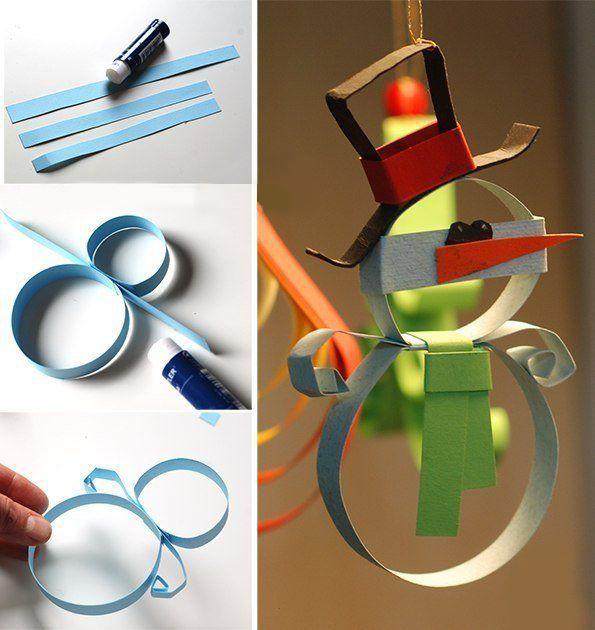 65 идей новогодних игрушек из бумаги своими руками к Новому году 2021