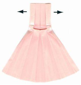 Как сделать платье из бумаги своими руками: инструкция с шаблонами и советы (85 фото)