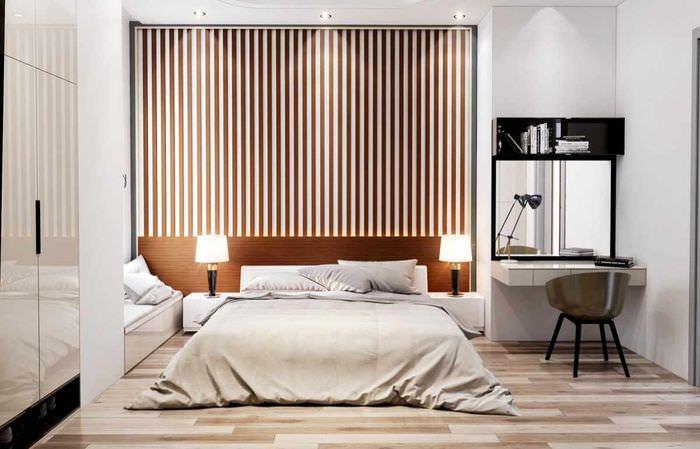 Советы по оформлению изголовья кровати в спальне