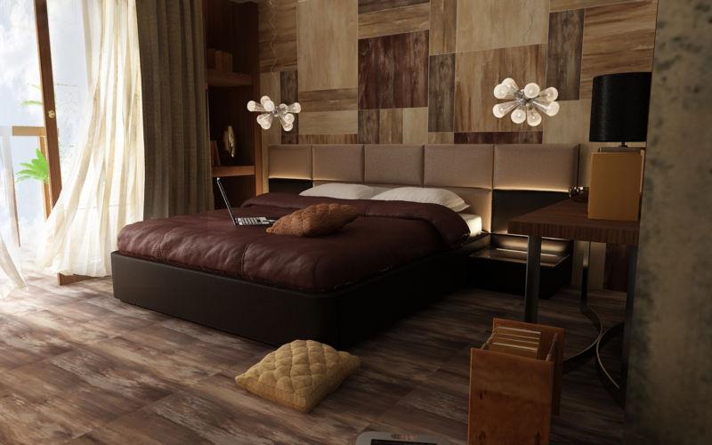 Новинки дизайна спальни; фото красивого интерьера в спальне