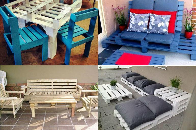 Изготовление мебели из поддонов пошагово