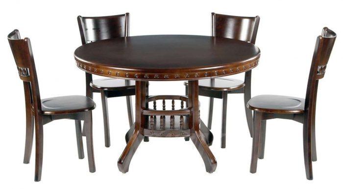 Круглый стол из дерева: гениальные и простые конструкции своими руками