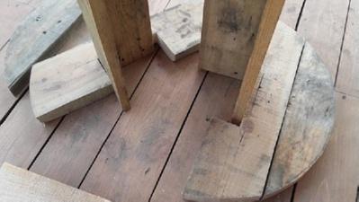 Как сделать круглый стол из дерева своими руками