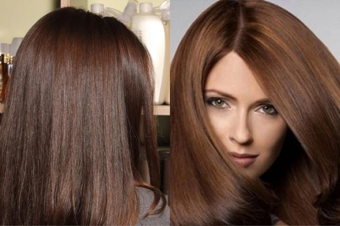 Как сделать коричневую краску