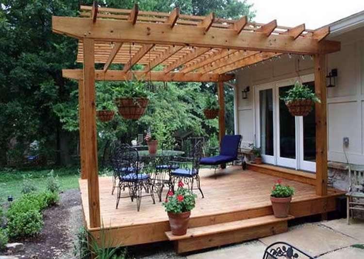 Как пристроить террасу к дачному дому самостоятельно