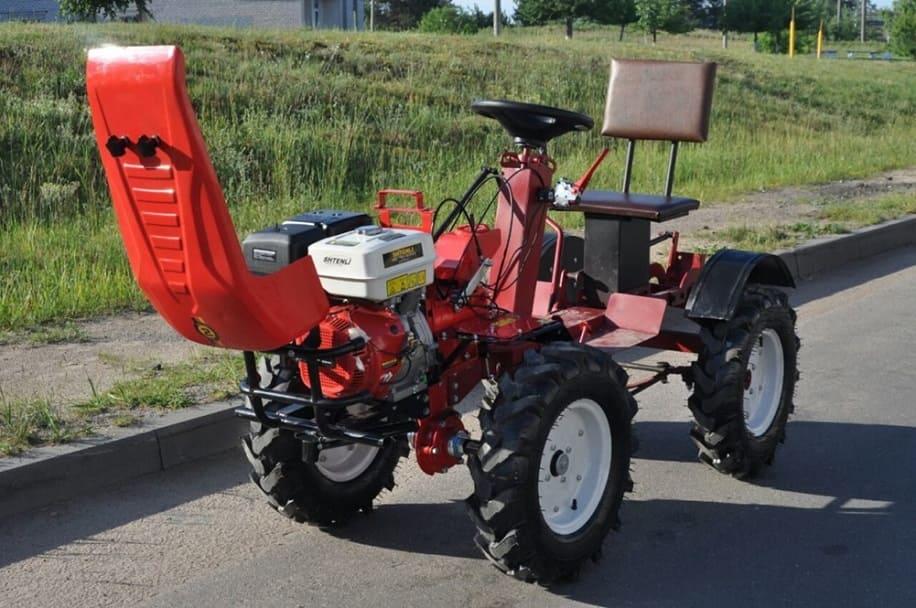 Гусеничные самоделки: минитрактор своими руками; чертежи трактора