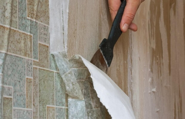 Как снять обои со стен быстро без остатка бумаги