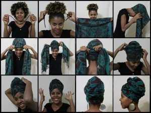 Красивые способы завязывать и носить чалму