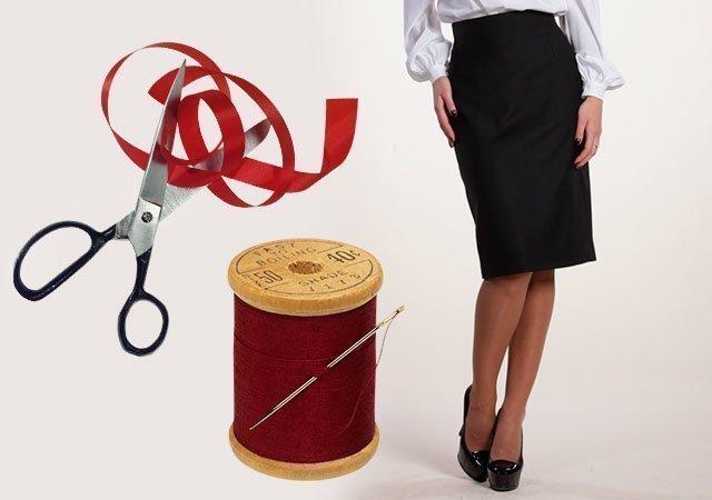 Как сшить юбку-карандаш своими руками