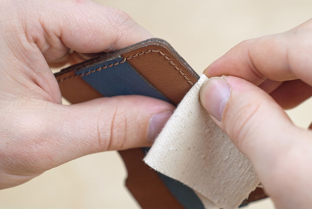 Построение выкройки и пошив кожаных кошельков и портмоне собственноручно