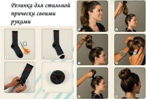 Аксессуары для волос своими руками. 5 украшений
