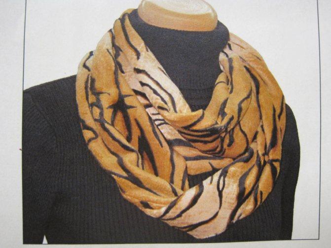 Тёплые шарфы и снуды без пряжи, спиц и крючка: 5 мастер-классов