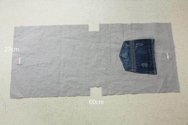 Как сшить своими руками сумку из джинсов