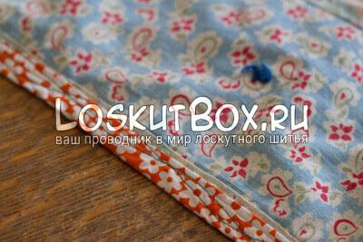Быстрый ремонт старого лоскутного одеяла