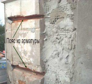 Стяжка дома от трещин