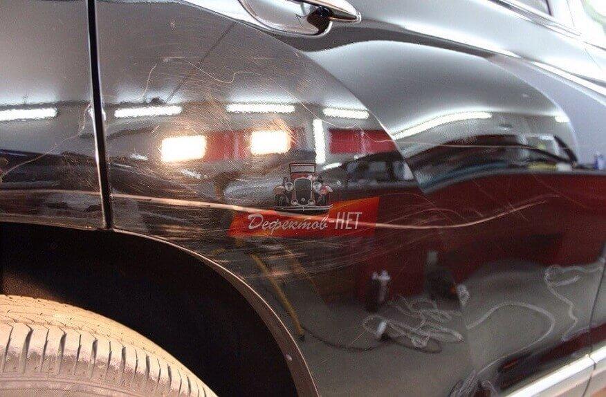 Мелкие царапины на стекле авто и как убрать их в гаражных условиях